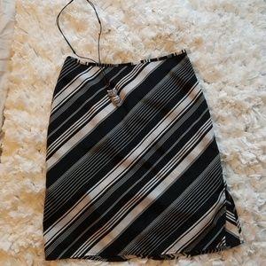 Xhilaration black white skirt
